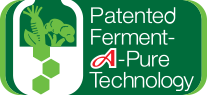 patented ferment A-pure technology